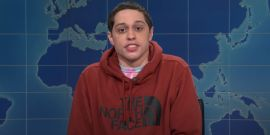 SNL's Pete Davidson Had A Hilarious Response After Meeting Woman With Same First Name As Ex Ariana Grande