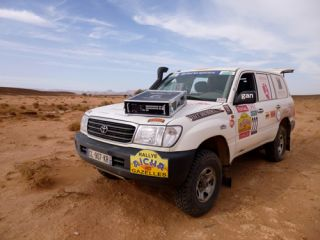 Analog Way LiveCore for Rallye Aïcha des Gazelles Morocco