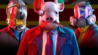 A trio of Watch Dogs Legion's Dedsec operatives