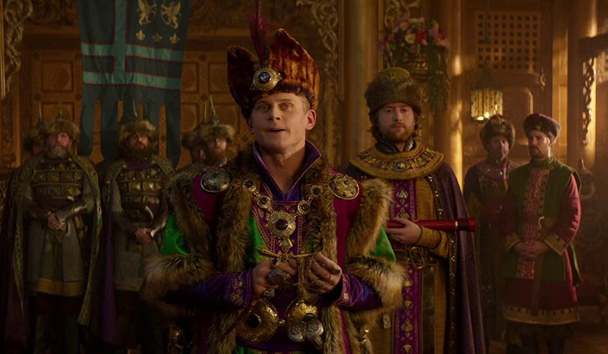 Billy Magnussen as Prince Anders in Aladdin