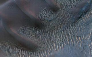 Dunes in Noachis Terra Region of Mars