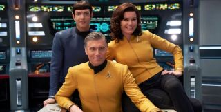 """Anson Mount made the character of Captain Pike his own and we have high hopes for """"Strange New Worlds."""""""