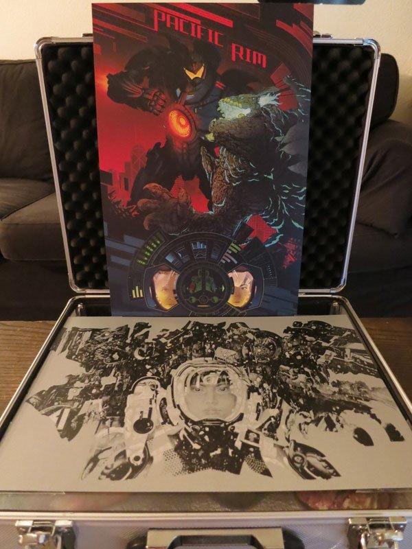 Pacific Rim Jaeger vs. Kaiju Print
