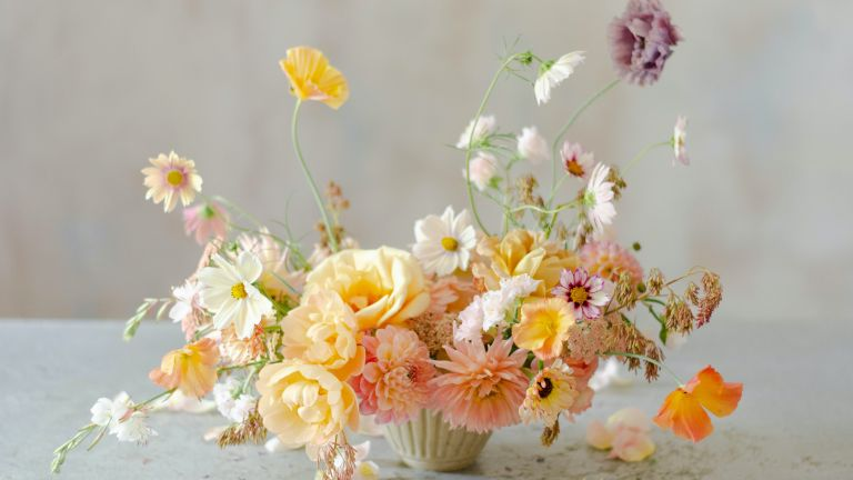 summer flower display