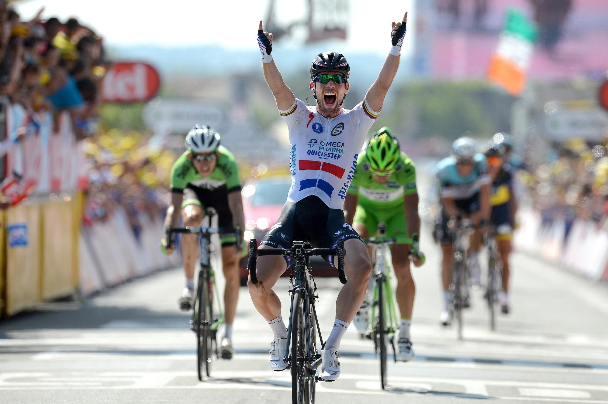 Mark Cavendish wins stage 13 of the 2013 Tour de France