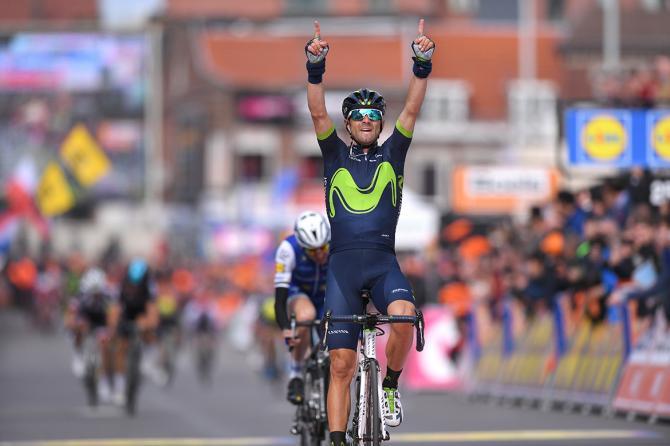 Alejandro Valverde (Movistar) wins his fourth Liège-Bastogne-Liège