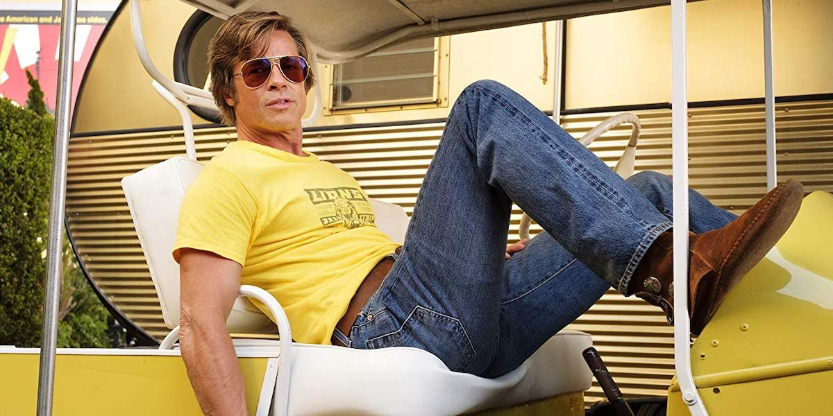 Brad Pitt as Cliff Booth in Once Upon a Time... In Hollywood