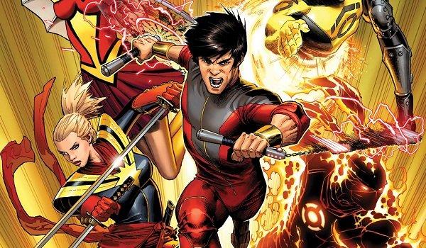 Shang-Chi entering battle