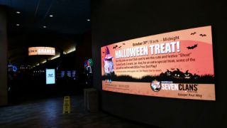 NanoLumens Displays in Seven Clans Casino