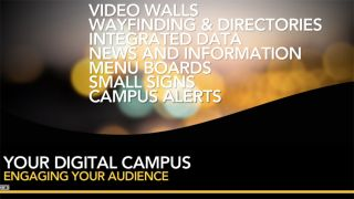 Webinar Thursday–Digital Signage For Lasting Impressions on the New Digital Campus