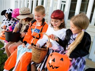 trick or treating, halloween, stealing candy, human nature, anonymity