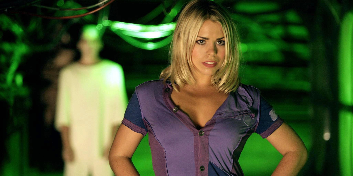 Billie Piper on Doctor Who