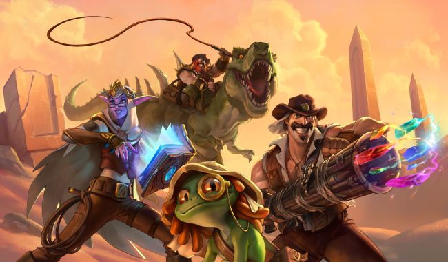 Is Blizzard hurting the hype for new Hearthstone expansions by letting streamers play early?