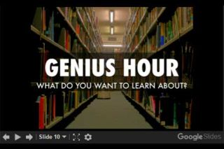 #GeniusHour: What Students Think