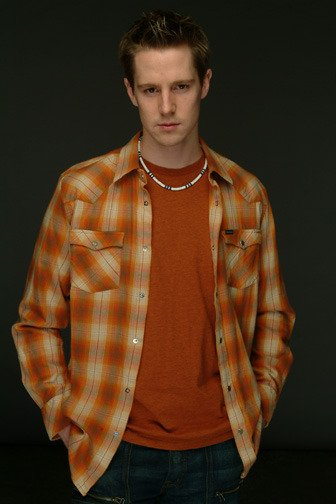 Logan orange shirt