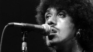 Phil Lynott onstage