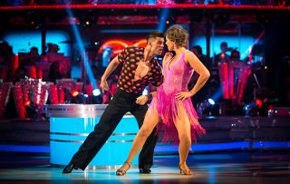 Aljiaz and Kate Silverton on Strictly Come Dancing ep5 S16
