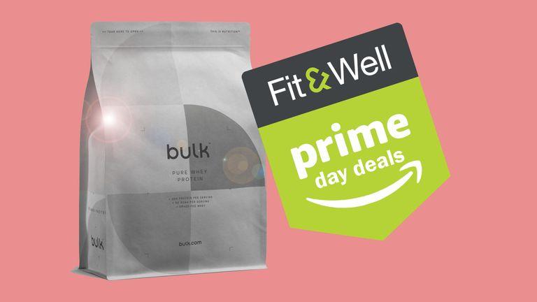 Bulk whey protein powder, now on offer during Amazon Prime Day