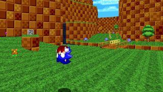 Snolf, a Sonic Golf variant.