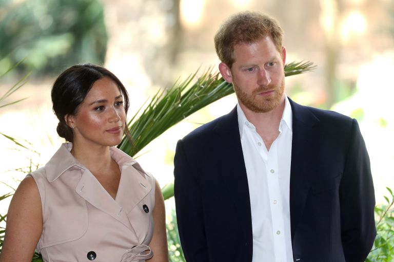 prince harry and Meghan marble stop using Sussex royal