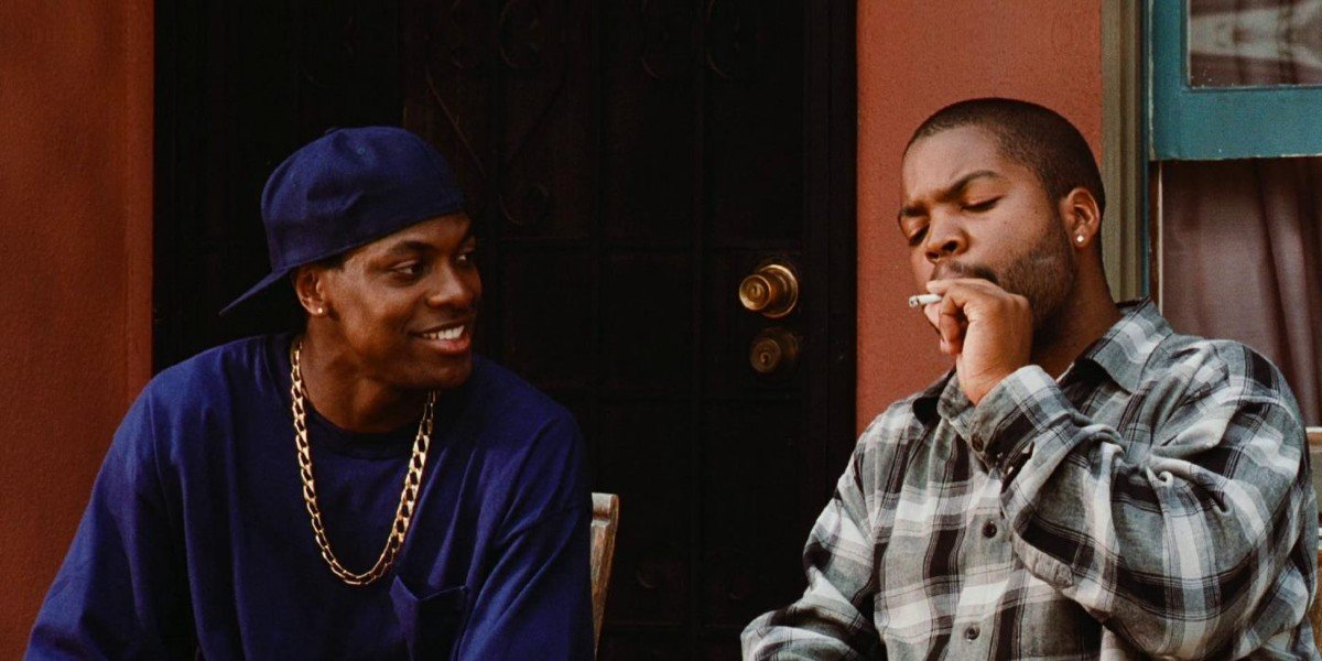 Chris Tucker and Ice Cube in Friday