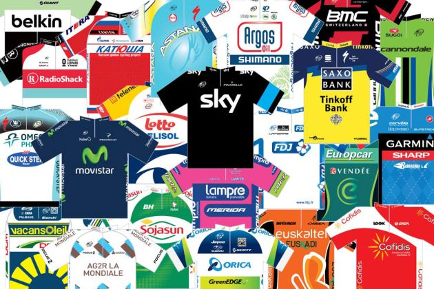 2013 Tour de France jerseys