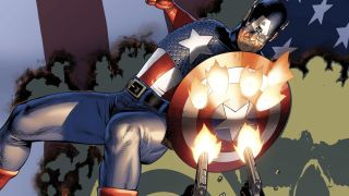 image of Captain America's shield