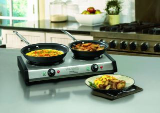 Waring pro single burner hot plate