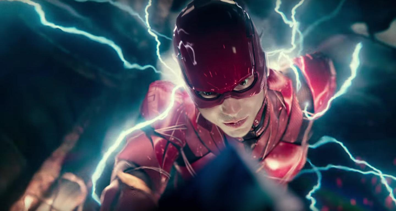 Ezra Miller Flash in Justice League