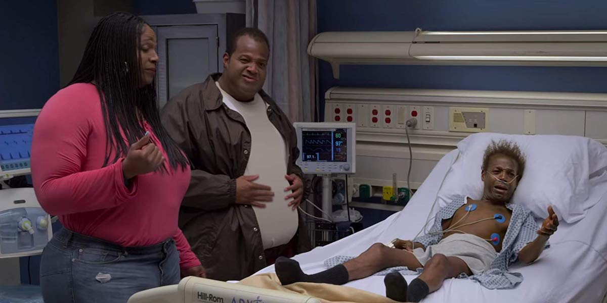 Sextuplets, Marlon Wayans as Dawn, Russell and Baby Pete