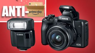 Don't buy this Canon at Amazon –buy it at Adorama and get a FREE $150 flash!