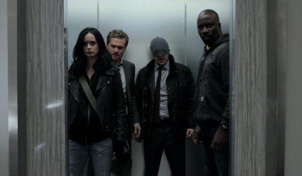 The Defenders Daredevil Jessica Jones Luke Cage Iron Fist