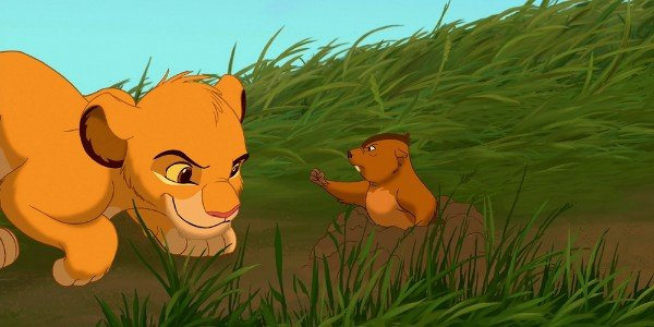 Gopher - The Lion King