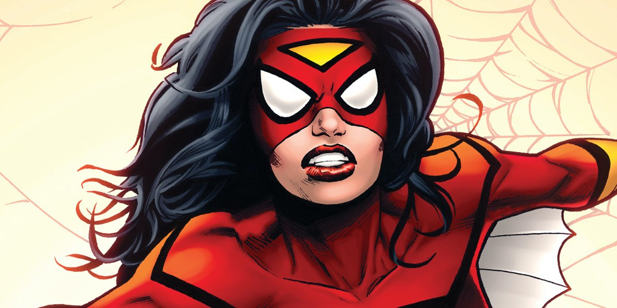 Jessica Drew is Spider-Woman