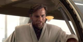 "Ewan McGregor as Jedi knight Obi-Wan Kenobi in the ""Star Wars"" universe."