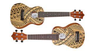 Harley Benton Hawaii Soprano Spruce Ukulele and Hawaii Concert Spruce Ukulele