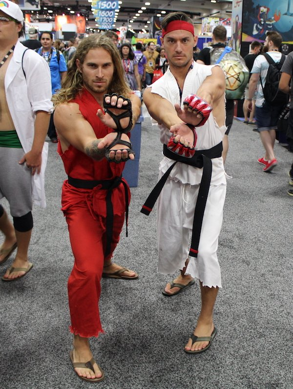 SDCC Costume fighters