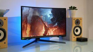 Samsung G7 gaming monitor