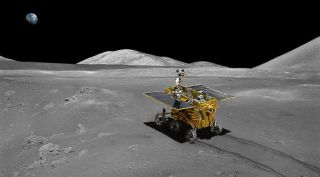 Chinese moon rover Chang'e-3