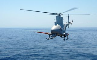 U.S. Navy Robot Helicopter