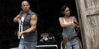 Vin Diesel and Michelle Rodriguez in F9