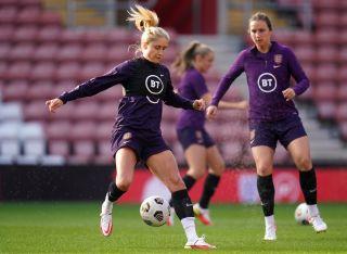 England Training – St Mary's Stadium – 16th September