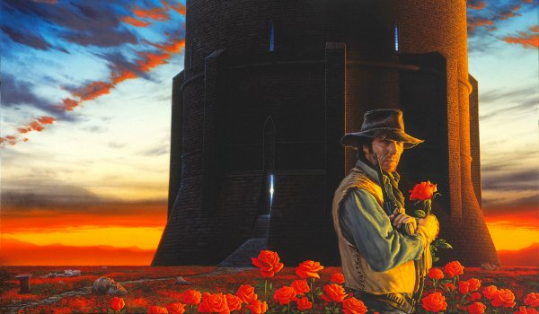 The Dark Tower roland with roses