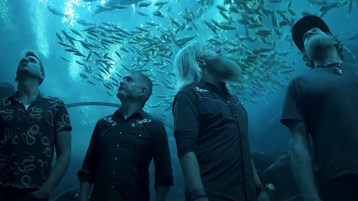 Mastodon announces first-ever acoustic show – at an aquarium