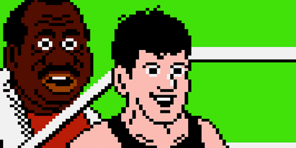 Little Mac gets ready to fight in Punch-Out.