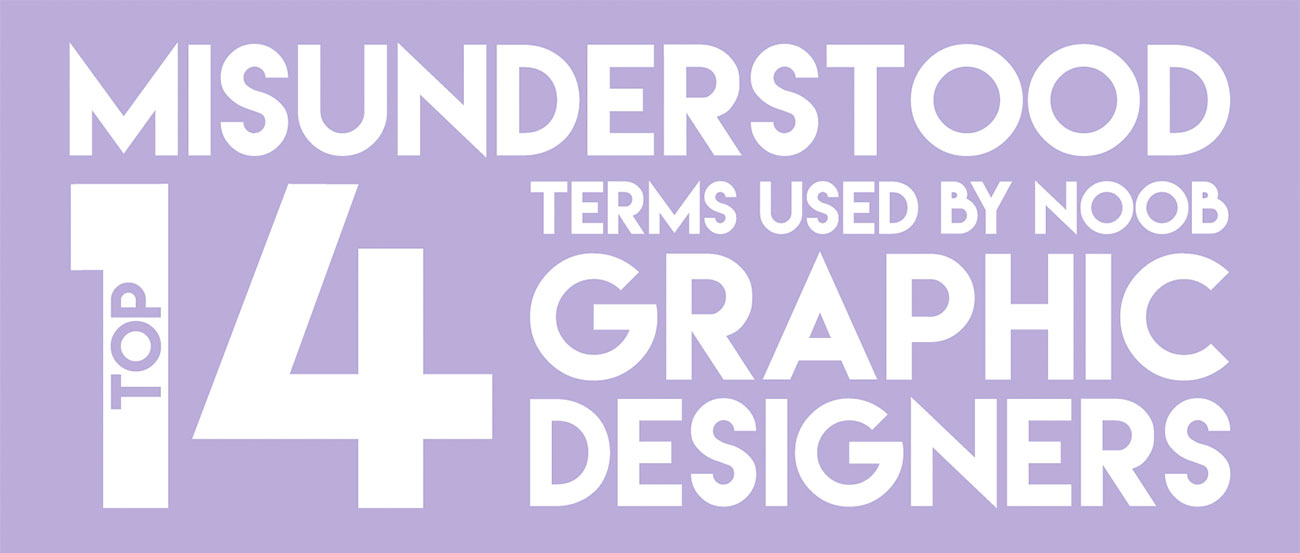 Infographic: 14 design terms you might be getting wrong