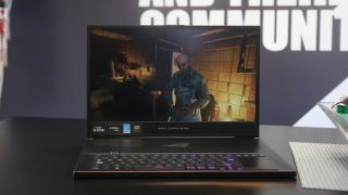 The Asus ROG Zephyrus S GX701 is one of the best gaming laptops on the market. Picture credits: Trustedreviews