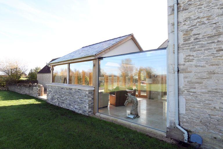 Glass box extension ideas