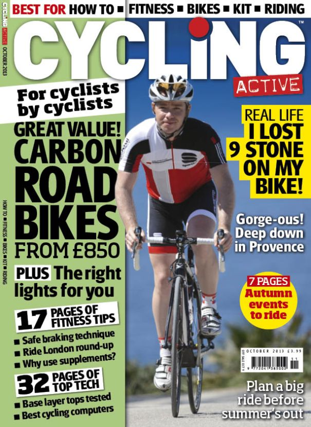 Cycling Active October 2013 issue