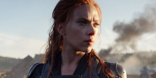 Scarlett Johansson as Black Widow in 2021 movie